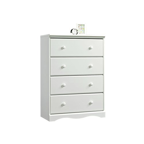 Child Craft Monterey 4 Drawer Chest, Matte White - 1