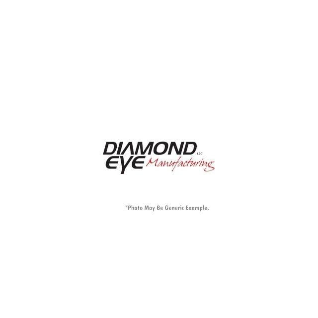 07.5 10 Chevy Silverado, GMC Sierra Duramax 6.6L Diesel 2500/3500, 4 Stainless Steel Turbo Back D.P.F. Race Single Exhaust (QUIET TONE) E.C.L.B. WITH BUNGS