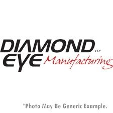 "Diamond Eye K5118S-Rp Diesel Exhaust 5"" Turbo Back 409 Ss - No Muffler Duramax"