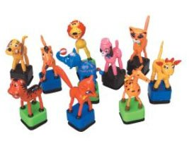 Floppy Toy Animals - Box of 36 Animals