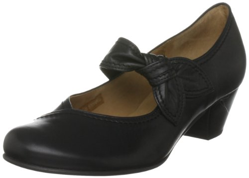 Gabor Women's Henrietta Black Platforms Heels 45.457.27 4.5 UK