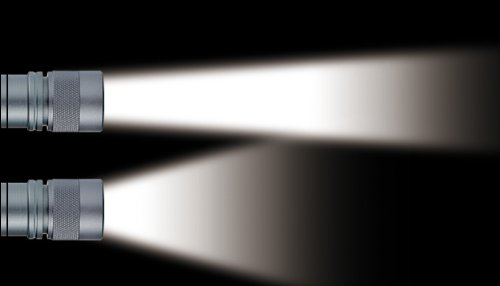 GENTOS(ジェントス) 閃 355 【明るさ100ルーメン/実用点灯10時間】 SG-355B