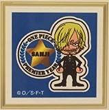 USJ限定 ユニバ ワンピース 5周年記念 ポストカード&切手 ルフィー バージョン (ナミ サンジ)