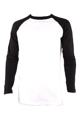 Knocker Men's Long Sleeve Baseball Raglan Shirt