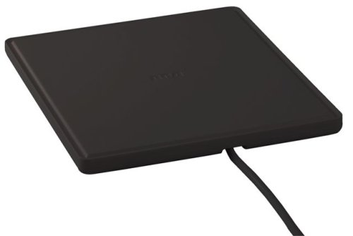 RCA ANT1450B Multi-Directional Digital Flat Amplified Home Theater Antenna (Black)