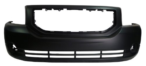 Dodge Caliber 07-08 Front Bumper Cover - W/Fog Holes (Caliber Dodge Front Bumper compare prices)