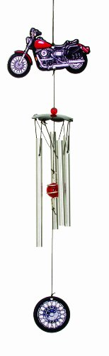 Spoontiques Metal Motorcycle Wind Chime
