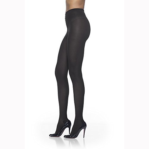 Sigvaris Soft Opaque 841PLLW09 15-20mmHg Closed Toe, Pantyhose Large Long Women, Midnight Blue by Sigvaris bestellen