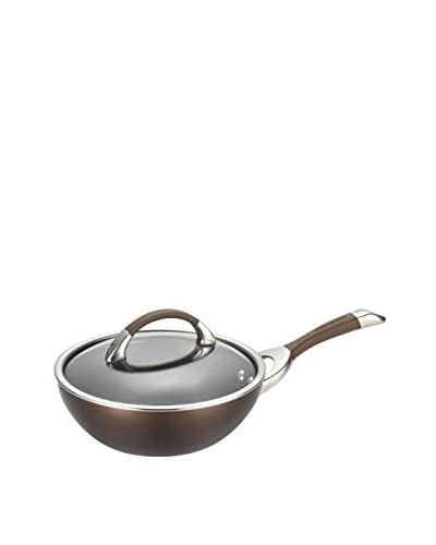 Circulon Symmetry Hard-Anodized Nonstick 9.5 Covered Stir Fry, Chocolate