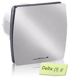 Amaryllis Bathroom Exhaust Fan 5 Inch Delta(I)-5 SS FINISH