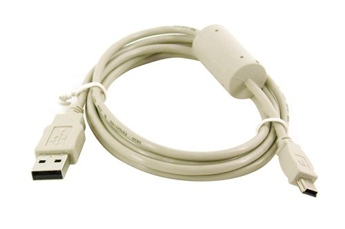 OLYMPUS Digital Camera Compatible A to Mini B 5-pin USB Cable, 5 Feet