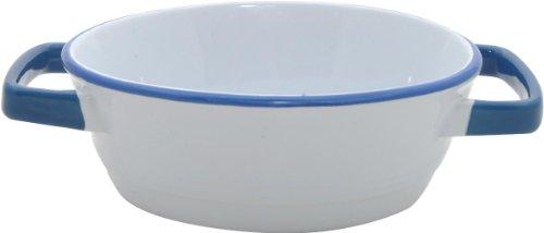Mason Cash Enamour Oval Pie Dish, 0.6-Quart
