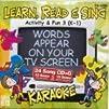 Learn Read and Sing 3 Cd Karaoke Set for K-1st Grade