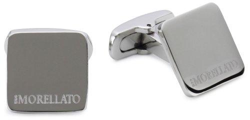 Morellato SRG01 - Gemelli da uomo, acciaio inossidabile