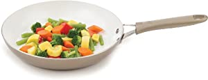 WearEver Pure Living Nonstick Ceramic Coating Saute Pan Fry Pan Cookware