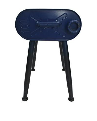 LO+DEMODA Taburete Gasoline Vintage Azul