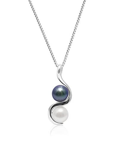 Pearl Addict Collar plata de ley 925 milésimas rodiada