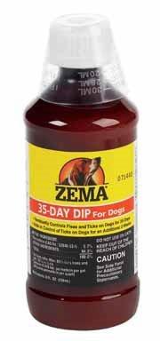 Sentry 35 Day Dip For Dogs For Fleas And Ticks 8 Oz Permethrin vectorial capacity of ticks
