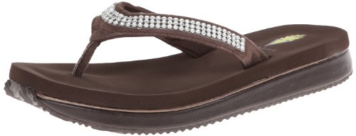 Volatile Women'S Riches Wedge Sandal,Brown,9 B Us front-1053824