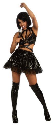 Womens Rihanna Vinyl Costume