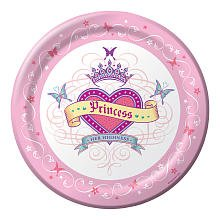 Her Highness Princess 9-inch Paper Plates 8 Per Pack by Creative Converting