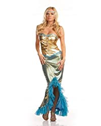 Sea Worthy Adult Mermaid Halloween Costume Size Large