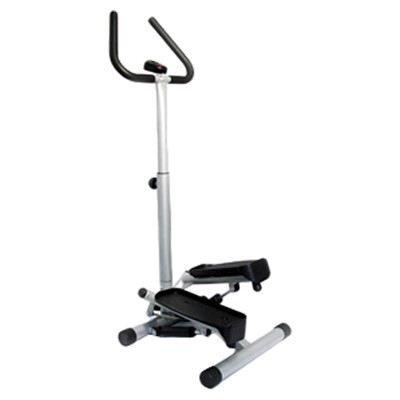 Online Gym Shops CB15191 Twist Mini Stepper with Handle Bar