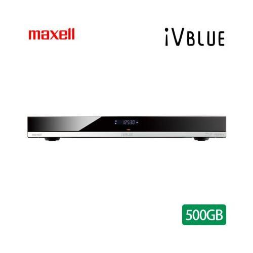 マクセル iVDRスロット搭載 ブルーレイディスクレコーダー アイヴィブルー 500GB HDD内蔵 BIV-WS500