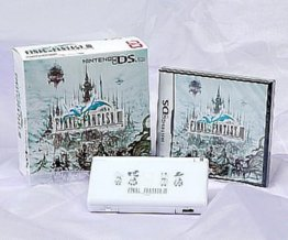 Nintendo DS Lite - Final Fantasy III Crystal Edition (Japanese Imported) (Limited Edition DS Lite imprinted with Final Fantasy III inspired graphics)