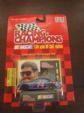 Racing champions 1/64 scale Diecast with collectible card 1997 edition #74 Randy Lajoie