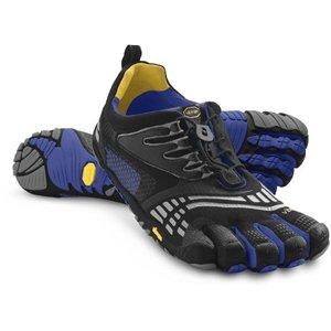 FIVE FINGERS Men's Vibram 5 Fingers,Komodosport LS mult-sport minimalist athc shoe,Blk Blue 41M
