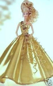 BARBIE-GOLD-SENSATION-LIMITED-EDITION-FIRST-IN-A-SET-SERIAL-00345-1993-TIMELESS-CREATIONS-by-Mattel-by-Mattel