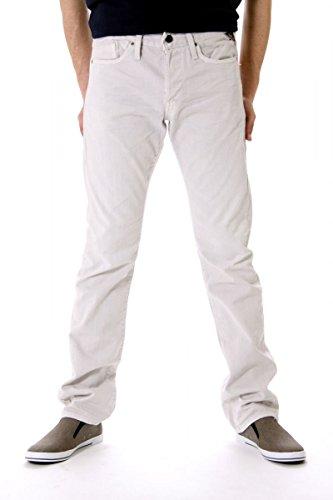 Replay Jeans Stretti WAITOM, uomo, Colore: Grigio Chiaro, Taglia: 31/34