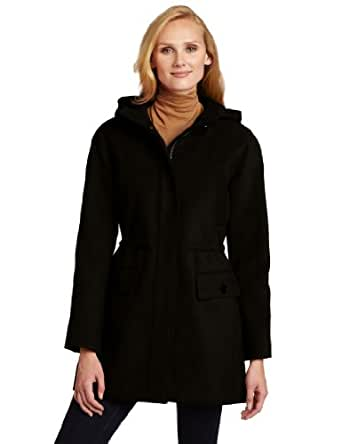 Tommy Hilfiger Women's Hooded  Anorak Coat, Black, 4