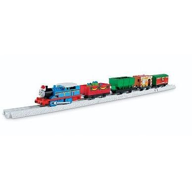 Thomas the Train: Trackmaster Motorized Railway 2-foot Expansion Track - Thomas' Big Holiday Haul