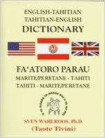 Book cover of 'English-Tahitian, Tahitian-English Dictionary'