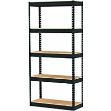Edsal SR-100 Heavy Duty Steel Shelving Unit, 2500lbs Capacity