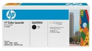Q6000A HP Color LaserJet CM1015 MFP ColorSphere Smart Printer Cartridge Black (2500 Yield) - (Genuine Orginal OEM toner)