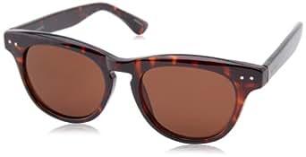 Isaac Mizrahi Sunglasses 7 20 Wayfarer Sunglasses,Dark Tortoise,47 mm