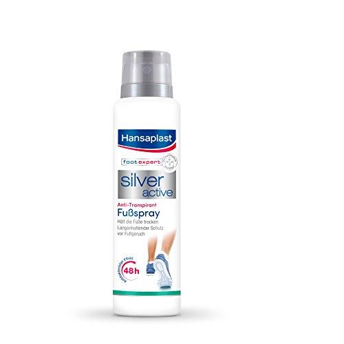 4x Hansaplast Silver Active Fussspray