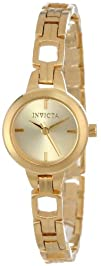 Invicta Womens 15438 Wildflower 18k Gold Ion-Plated Stainless