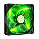 Cooler Master 120mm Green LED Case Fan - (R4-L2R-20CG-GP)