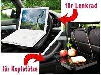 Tavoletta Vassoio per Viaggi Tavolino Per PC Notebook Portatile Auto