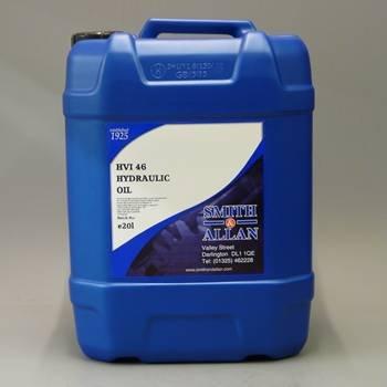 Smith & Allan HVI 46 Hydraulic Oil : Size - 20lt