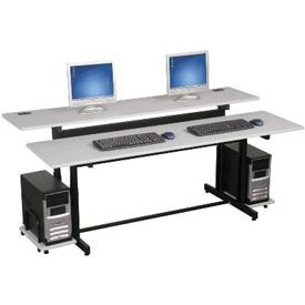 Buy Low Price Comfortable BALT Split-Level Computer Training Table, 72 x 36 (B001CLQT3I)