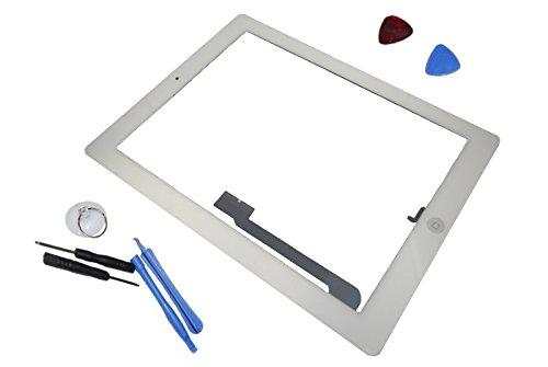 Apple iPad 4 A1458 A1459 A1460 Touch Screen Display Front Glas Scheibe Original Neu weiß white