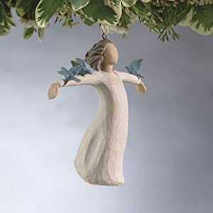 #!Cheap Willow Tree Hapiness Ornament, 26156