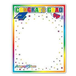 Congrats Grad Partygraph Party Accessory (1 count)