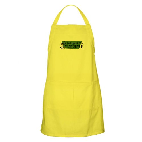 Cafepress Best Guys Are From Vancouver BBQ Apron - Standard