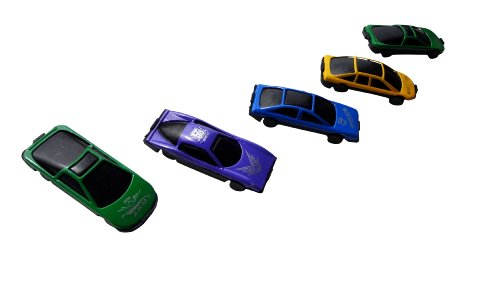4 Pack Set Of 5 Die-Cast Cars Set - Best Stocking Stuffer Christmas Gift Ideas For Boys Kids Teens Work Police Cars Die Cast Cars 1 64 front-639832